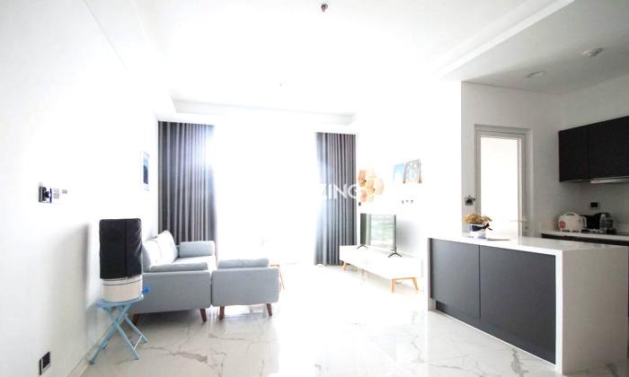 Luxury Living Two Bedroom Sarina Apartment For Lease in Thu Thiem District 2 HCMC