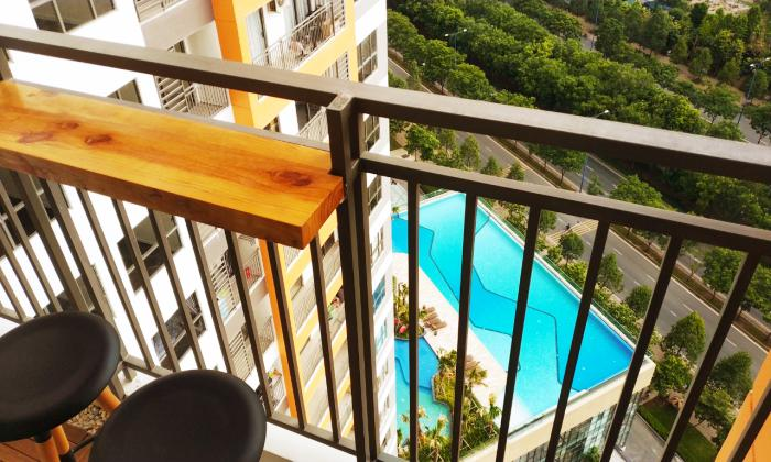Swimming Pool View Two Bedroom The Sun Avenue Apartment For Rent District 2 HCMC