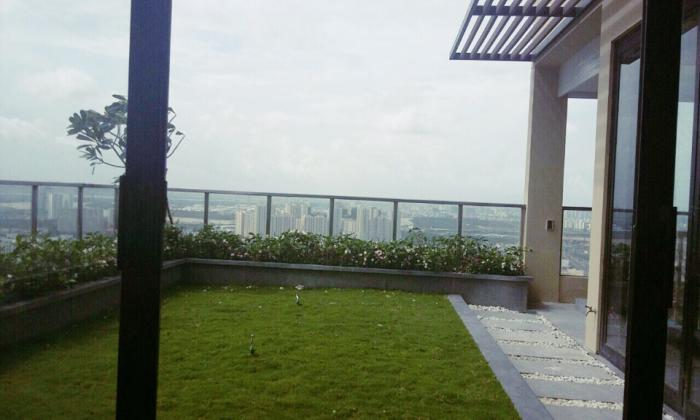 Penthouse Thao Dien Pearl Apartment For Rent in District 2 HCM City