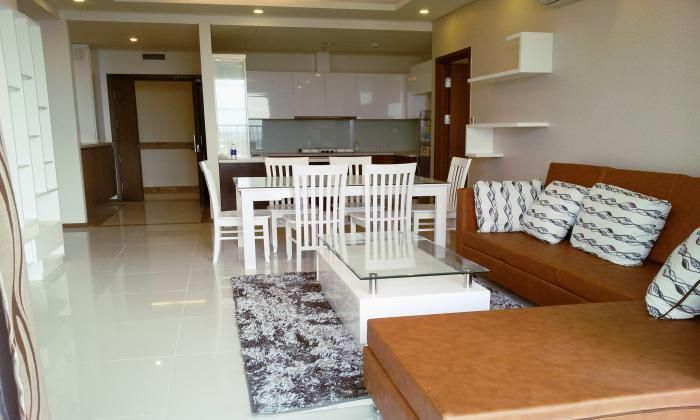Luxurious Wooden Floor Thao Dien Apart For Rent, District 2, HCM City