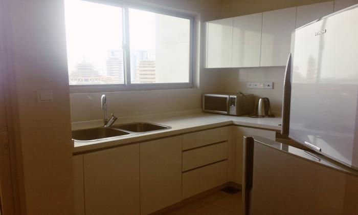 Two Bedroom Balcony Vista Apartment For Lease District 2 HCM City