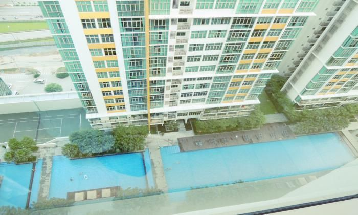 High Floor/ 3Beds, $1300, Apartment For Rent in The Vista Building, District 2  - HCM City
