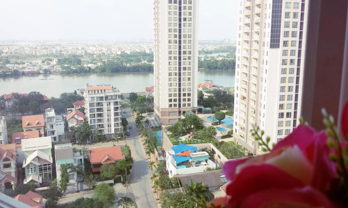 High Floor Two Bedrooms Thu Thiem Sky Apartment For Rent District 2 HCMC