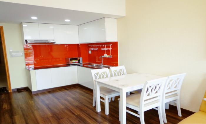 Brand New Interior Two Bedrooms Apartment in Thao Dien District 2 HCMC