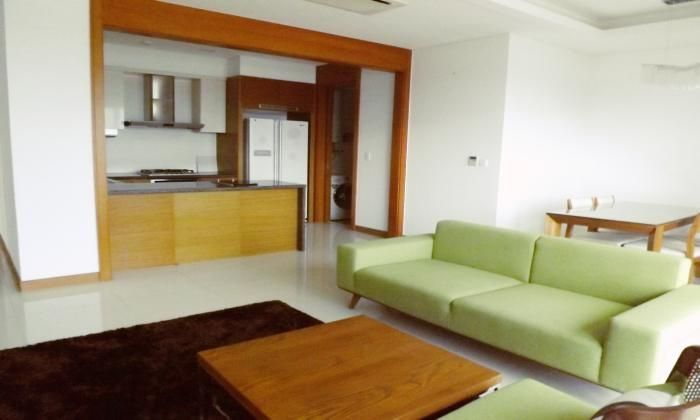 Nice Three Bedrooms Apartment For Rent In Xi Riverview District 2