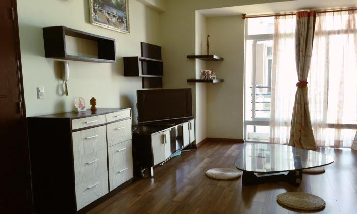 Amazing Wooden Floor Two Bedrooms Apartment in District 11, HCMC