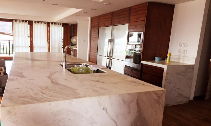 Brilliant Penthouse Apartment For Rent in An Phu Dong Villa District 12 HCMC