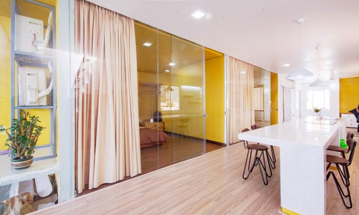 Very Cool Renovation Penthouse Apartment For Rent in District 3 Ho Chi Minh City