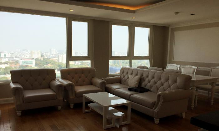 Charming and Luxury Three Bedroom Leman Apartment For Rent in District 3 HCMC