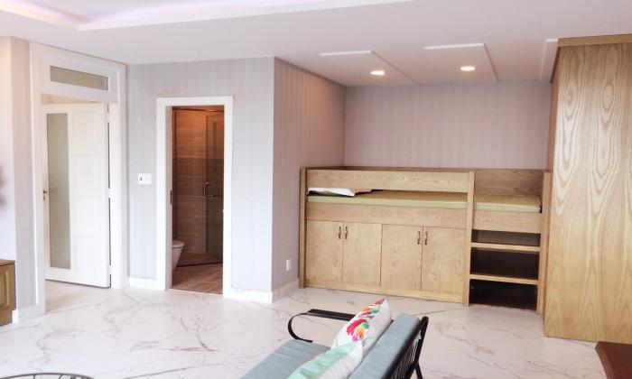 Simple Designed Two Bedroom Apartment For Rent In Leman District 3 Ho Chi Minh City