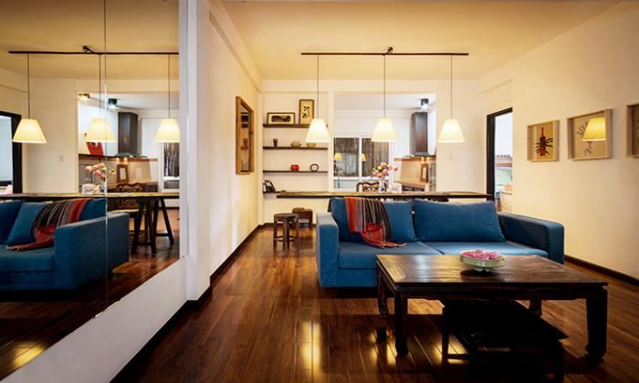 Vintage Style One Bedroom Apartment in Tran Quoc Thao Street District 3 HCMC