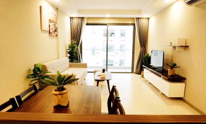 Modern Decoration Two Bedrooms Apartment in Gold View District 4 HCMC