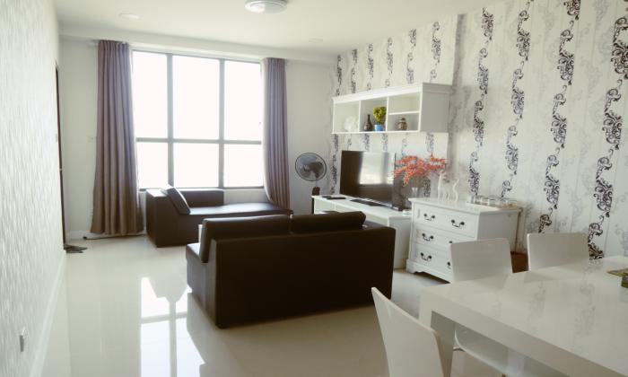 High Floor Two Bedroom Icon 56 Apartment For Rent District HCMC