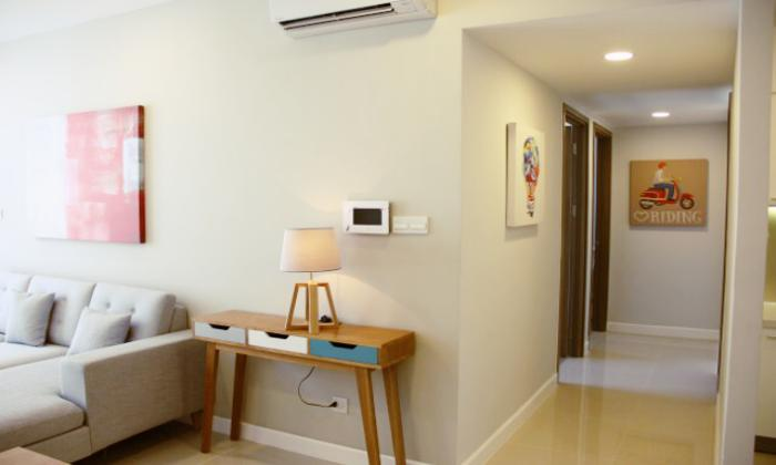Nice Interior Two Bedrooms Icon 56 Apartment For Rent District 4 HCMC