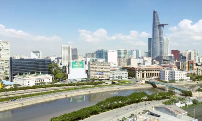 High Floor City View Icon 56 Apartment For Rent District 4 HCMC