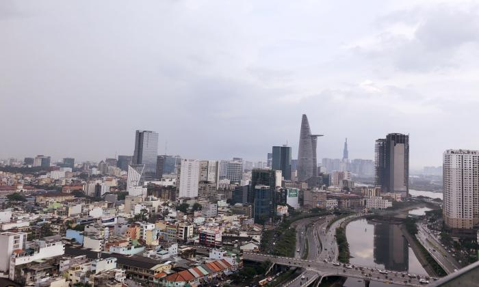 Amazing City Views Two Bedroom Masteri Millennium Apartment For Rent District 4 HCMC