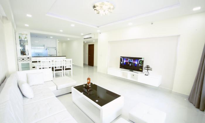 Three Bedroom Luxury Interior For Rent in Sunrise City District 7 HCM City