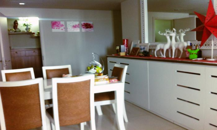 Two Bedrooms City Garden Apartment For Rent, Binh Thanh Dist, HCMC