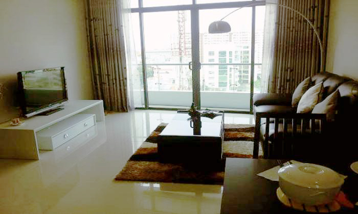 One Bedroom City Garden Apartment For Rent, Binh Thanh Dist, HCMC
