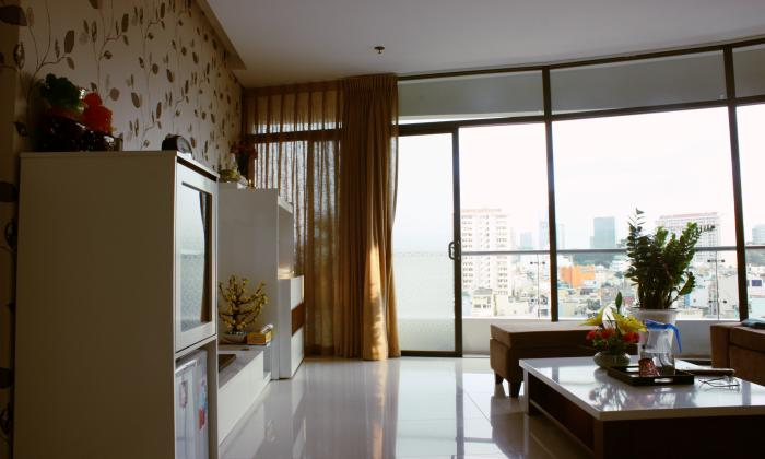 Two Bedrooms City Garden Apartment For Rent in Binh Thanh, HCM City