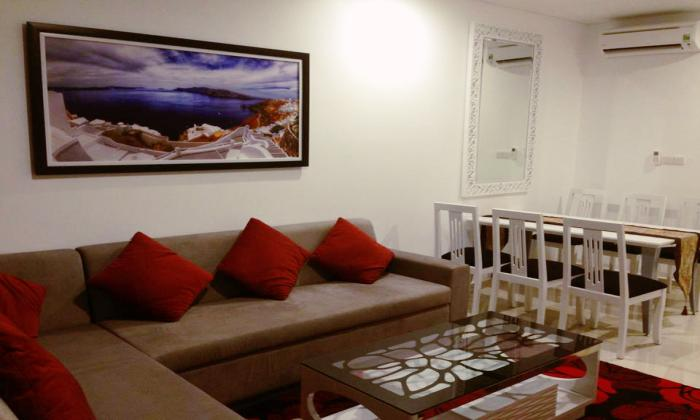 Two Bedrooms Apartment For Rent in Pearl Plaza, Binh Thanh Dist, HCMC