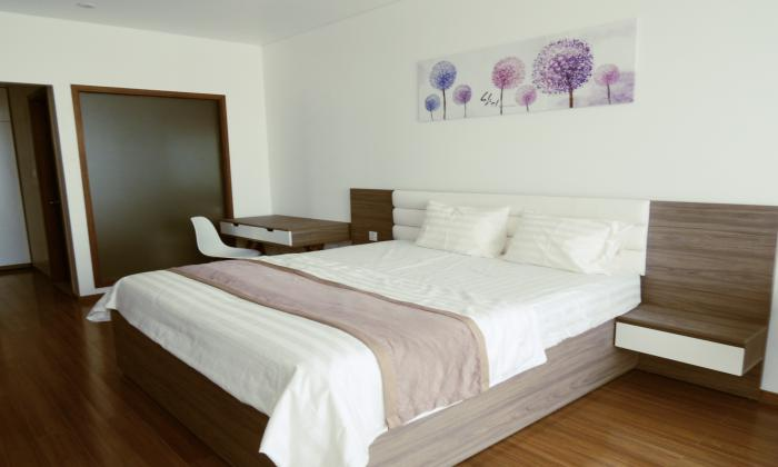 New Interior Three Bedrooms Pearl Plaza Apartment Binh Thanh District HCMC