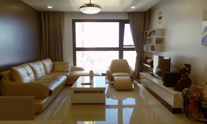 Western Designed Pearl Plaza Apartment For Lease Binh Thanh District HCMC