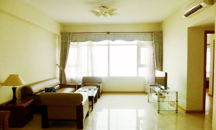 Bright Light 2Beds/$1050 Saigon Pearl Apartments For Rent, Binh Thanh District, HCM City
