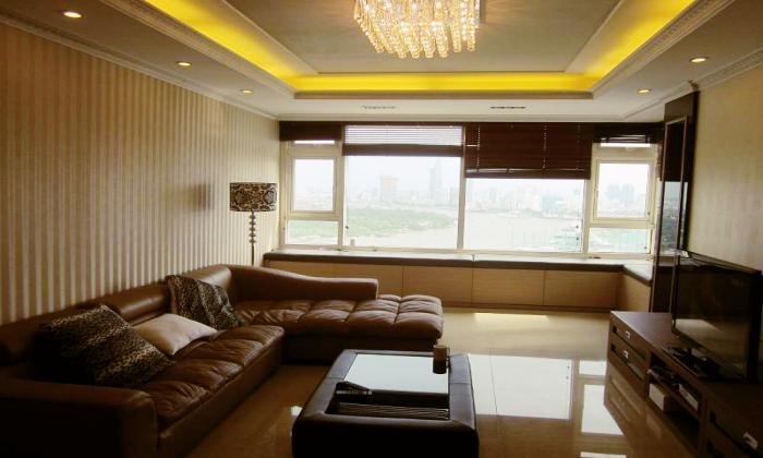 Luxury Three Bedrooms Saigon Pearl Apartments Rental, Binh Thanh District, HCM City