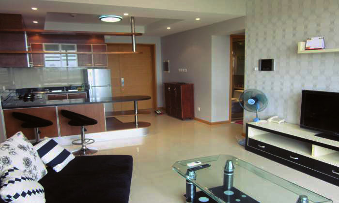 Modern Interior Two Bedrooms Saigon Pearl Apartment Rentals, Binh Thanh Dist, HCMC