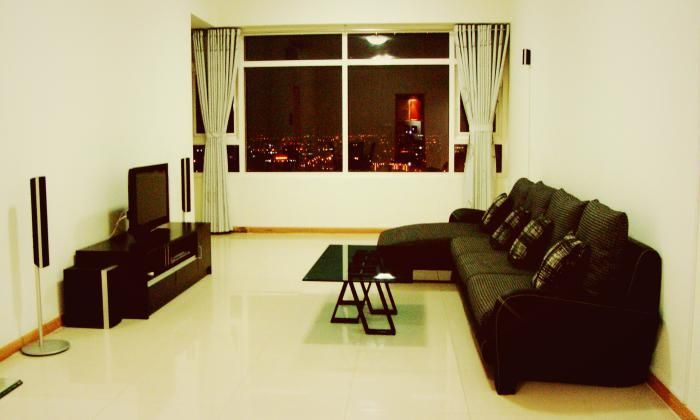 Wonderful Three Bedrooms Saigon Pearl Apartment For Rent, Binh Thanh