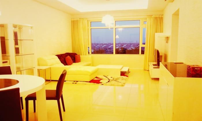 Cozy 2 Bedrooms Saigon Pearl Apartment For Rent, Binh Thanh Dist, HCMC