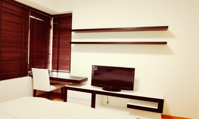 Luxurious Interior Two Bedrooms Saigon Pearl Apartment For Rent.