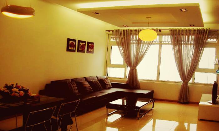 Wonderful Stylish Three Bedrooms Saigon Pearl Apartment Rentals
