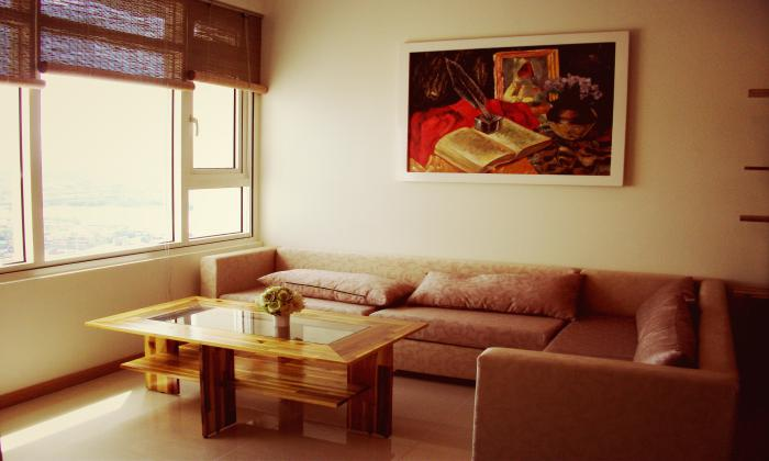 Wonderful Decoration 2Beds/$1200 Saigon Pearl Apartment For Rent.