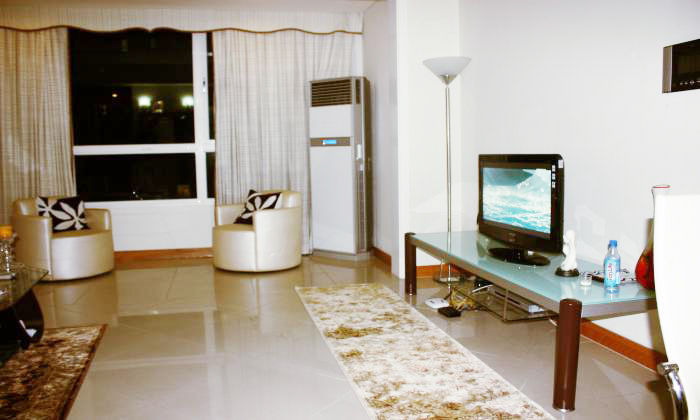 Modern 2Beds/$1200 Apartment in Manor Building, Binh Thanh Dist, HCM City: