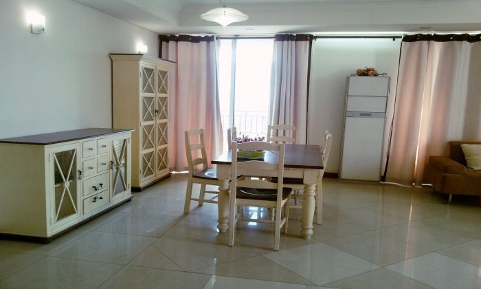 High Floor/2Beds, $1300, Apartment For Rent in Manor Building, Binh Thanh District  - HCM City