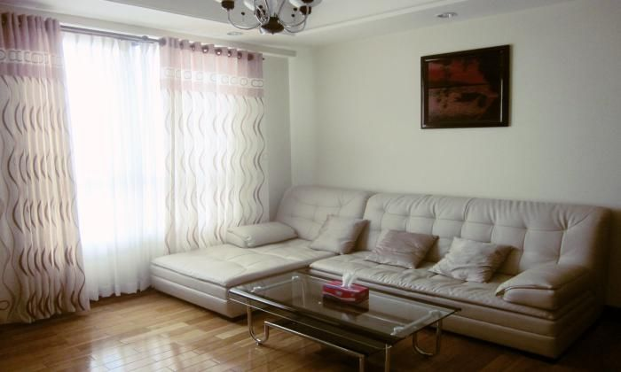 2Beds/$1300 The Manor Apartment With Natural Light, Binh Thanh District, HCM City