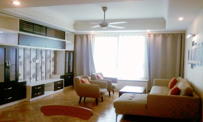 Modern Furniture The Manor Apartment For Rent, Binh Thanh District .