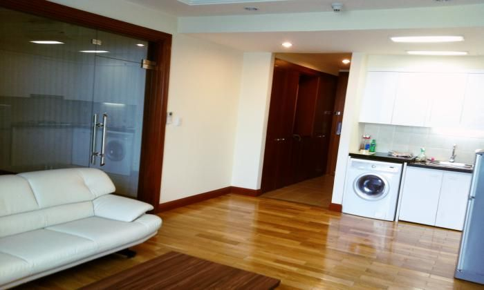 Bright Studio Apartment in The Manor Building Binh Thanh Dist HCM City