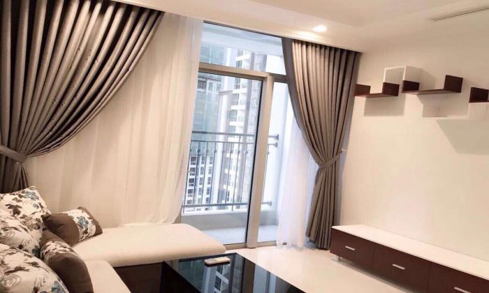 Brand New Two Bedrooms Apartment For Lease in Vinhomes Binh Thanh Dist HCMC