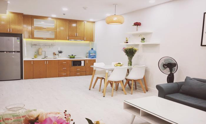 Good Rent Two Bedroom Garden Gate Apartment For Rent in Phu Nhuan District HCMC