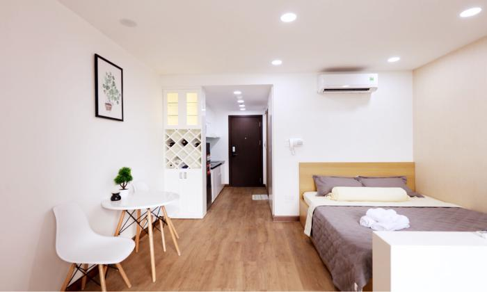 Nice Studio Garden Gate Apartment For Rent in Tan Binh District HCMC