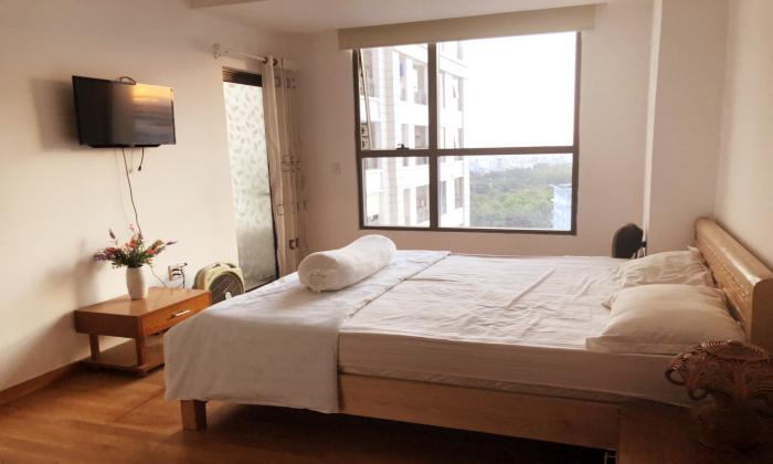 Fully Furnished Two Bedroom Apartment in Phu Nhuan District Ho Chi Minh City