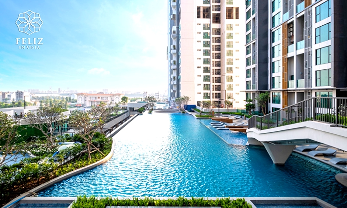 Three Bedroom Feliz Vista Apartment For Sales in Thanh My Loi District 2 HCMC