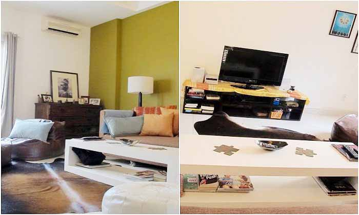 Modern Decoration Housing For Rent in District 1, HCM City, Vietnam.