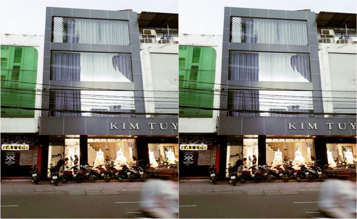 Retail House For Lease in Ho Van Hue Street  Phu Nhuan District HCM City