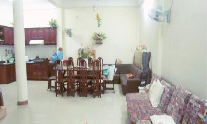 Spacious House Rent on Le Van Sy St, Phu Nhuan District, HCM City