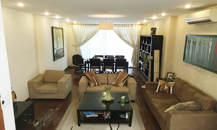 Three Bedrooms House for rent on Thich Quang Duc Street, Phu Nhuan Dist. HCMC
