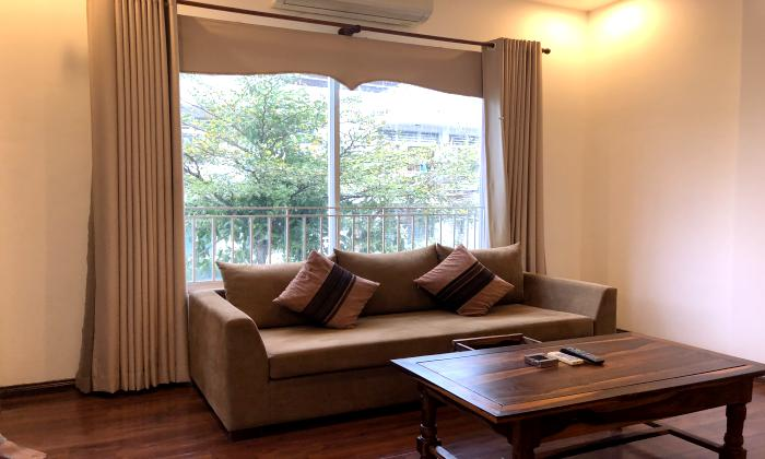 Spacious and Bright Light One Bedroom Serviced Apartment in District 1 Ho CHi Minh City
